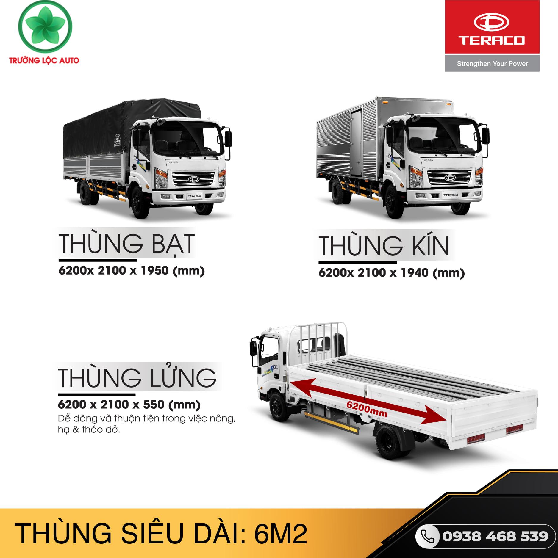 xe tải teraco 345sl