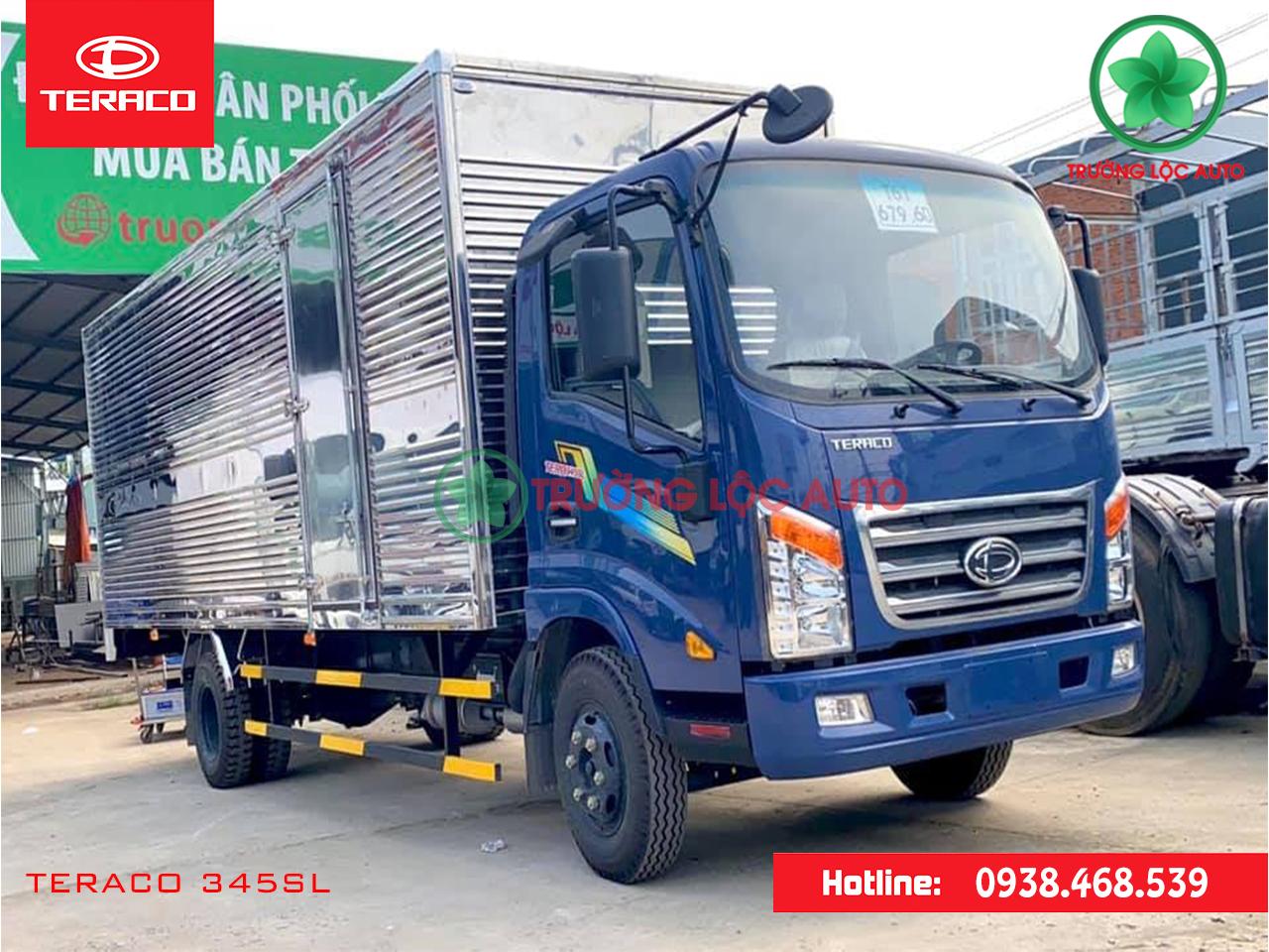 teraco 345sl thùng kín