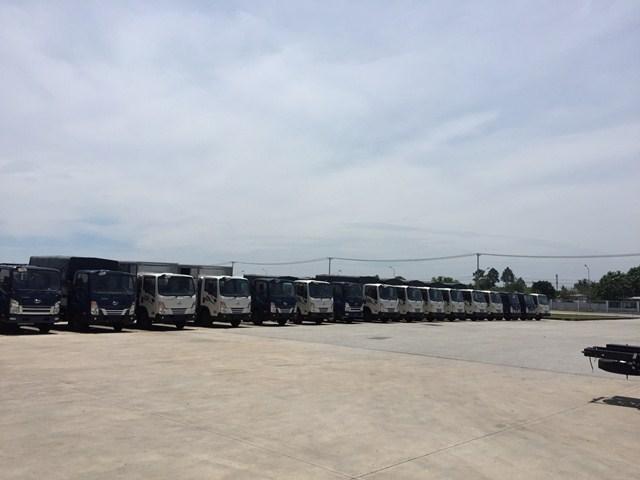 Phụ tùng DaeHan xe tải Teraco tera 240 2.4 tấn