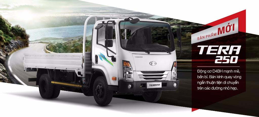 xe tải daehan 2t5 tera 2.5 tấn