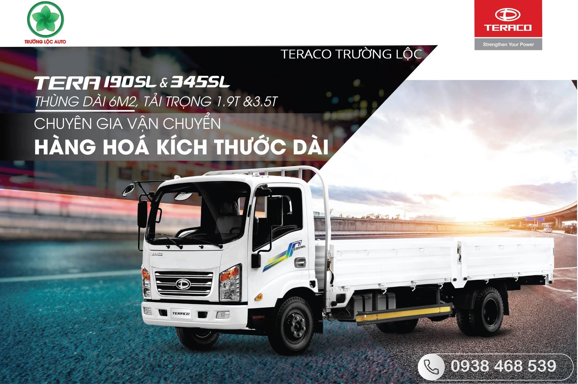 xe tải tera 190SL&345SL